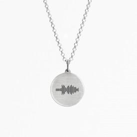 Voice Medallion Necklace