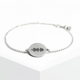 Voice Medallion Bracelet