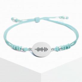 Voice Medallion Bracelet - Mint